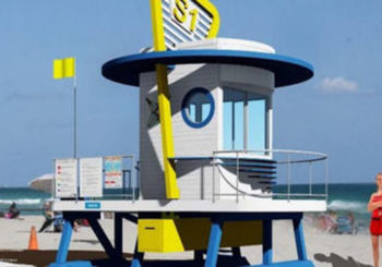 Hollywood is getting new lifeguard stands next year.