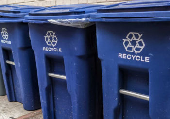 We're happy to embrace the recycling plans that are being formulated by the city.