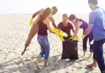Hollywood Beach Sweep Clean-Up