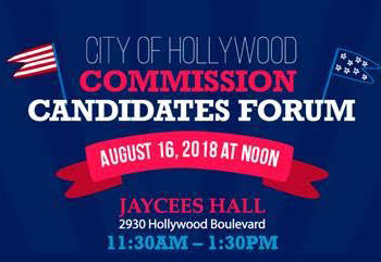 City of Hollywood Commission Candidates Forum
