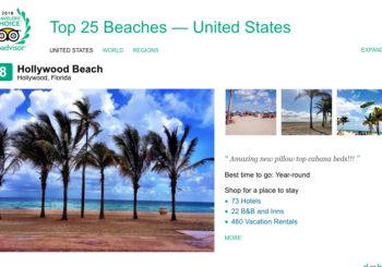 Congratulations Hollywood Beach #8 by Trip Advisor