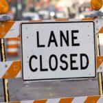 lane closures