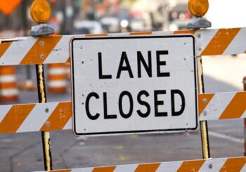 Hollywood Beach Lane Closures
