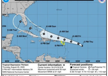 Tropical Depression #13