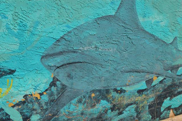 sharkmural